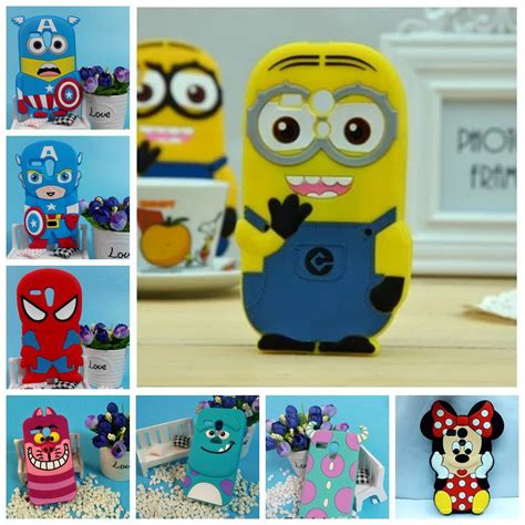 sales 3d minions phone silicone soft cover for motorola moto g g xt1028 xt1032 cases