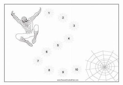 Spiderman Reward Charts Chart Behavior Printable Behaviour