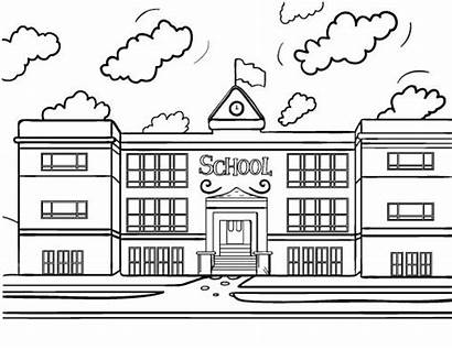 Coloring Pages Pdf Printable Coloringcafe Building Colouring