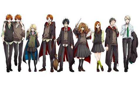 Harry Potter Anime Wallpaper - harry potter anime wallpaper 335492