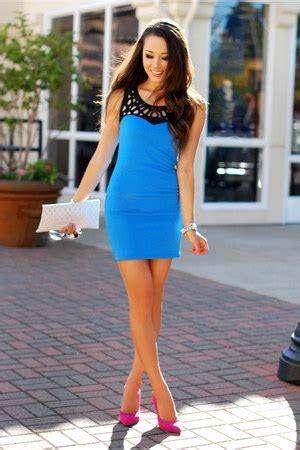 blue mont affair dresses  white isly handbags bags