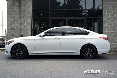 hyundai genesis   lexani css wheels exclusively