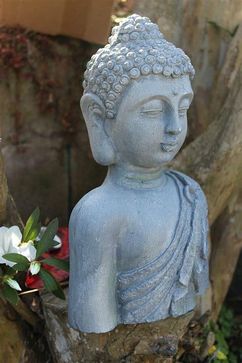 Large Buddha Statue Altar 32cm Hello Indigo Halo