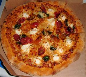 Anchovy Pizza Dominos