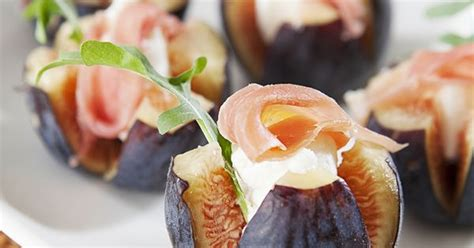 fresh canapes nugget markets fig chèvre canapes this fresh simple and