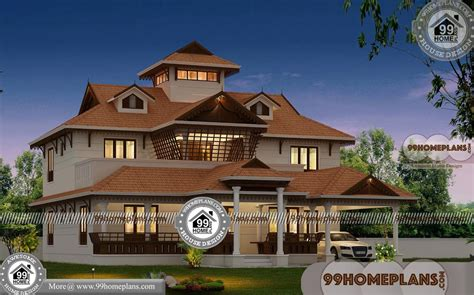 nalukettu house plan  elevation designs  traditional collections