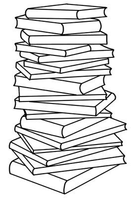 Book Stack Clip Art | Free download on ClipArtMag