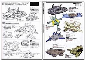Mobile Suit Gundam Ship  U0026 Aerospace Plane Encyclopedia Art
