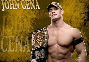 HD Wallpapers of WWE World Heavyweight Champion John Cena