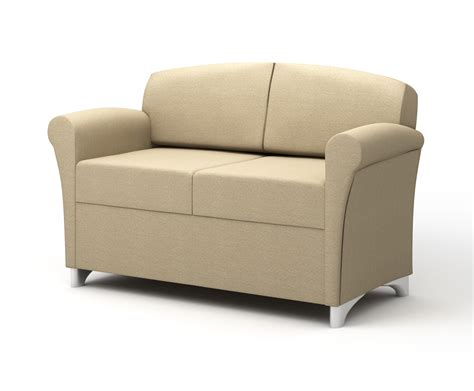 Rolled Arm Settee by Tria Lounge Seating And Tables Integraseating