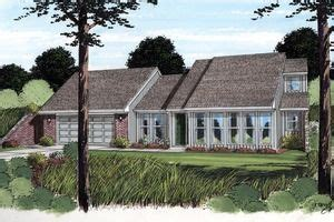 Ranch Exterior Front Elevation Plan #312 769
