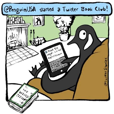 Penguin's Twitter Book Club Nets