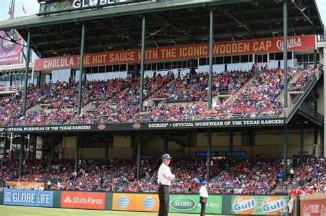 texas rangers seating chart    eat brokeasshomecom