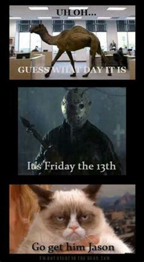Funny Friday The 13th Memes - tgif meme pinterest tgif and meme