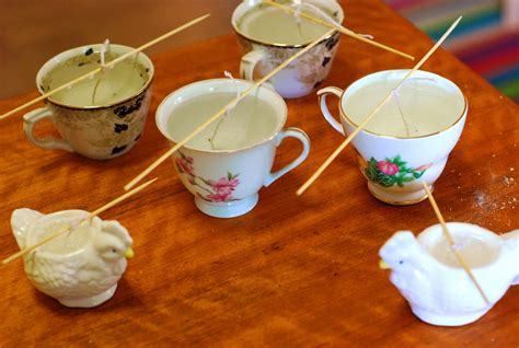 candle making guide patterns