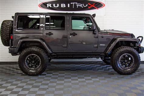 jeep unlimited 2018 2018 jeep wrangler rubicon recon unlimited granite