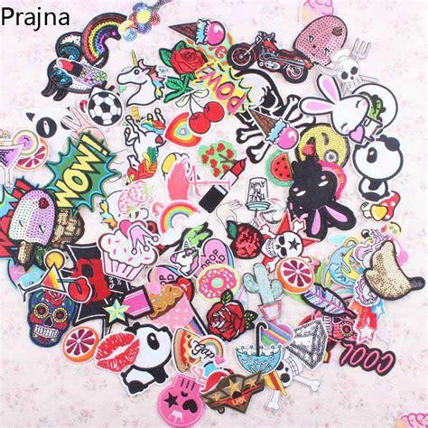 Prajna Random Mixed Anime Cartoon Cute Kawaii Patch Sew On