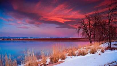 Sky 4k Nature Water Sunrise Calm Wallpapers