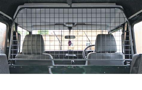 land rover defender   travall hundegitter car