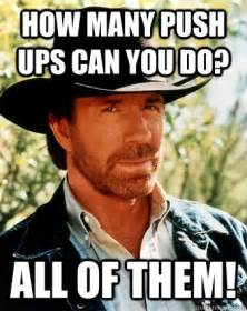 How Many Pushups Can Chuck Norris Do