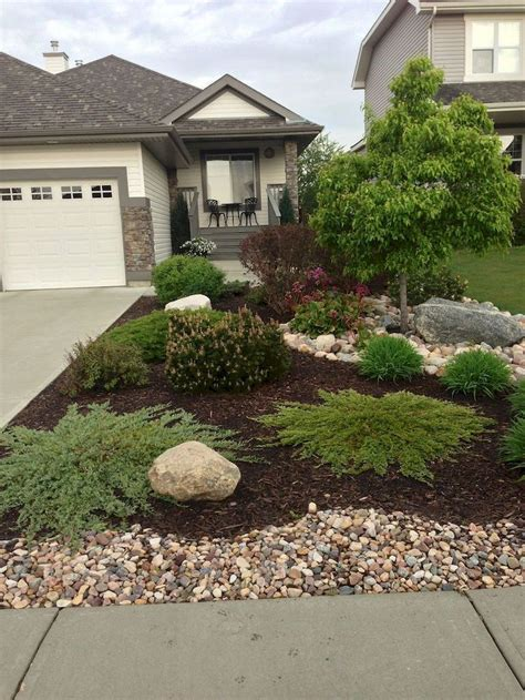 Backyard Landscaping Ideas With Rocks by Pin By Prado On Home Decor Front Yard