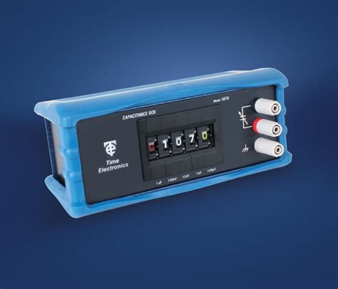 capacitance decade box time electronics