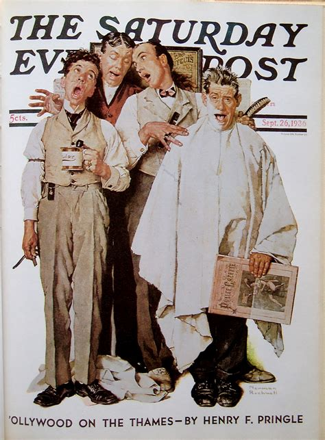 All Norman Rockwell's Saturday Evening Post Covers | Omero ...