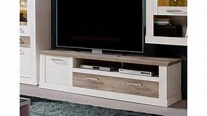 Tv Board Weiß Eiche : tv unterschrank 2 duro tv board pinie wei und eiche antik ~ Somuchworld.com Haus und Dekorationen