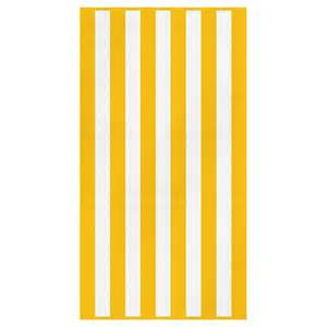 bridal shower gift registry canningvale cabana stripe towel yellow