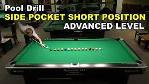 Pool Position : side pocket short position advanced pool billiard drill ~ A.2002-acura-tl-radio.info Haus und Dekorationen