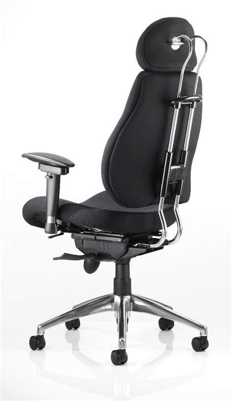 chiro plus ergonomic office chair with headrest choice
