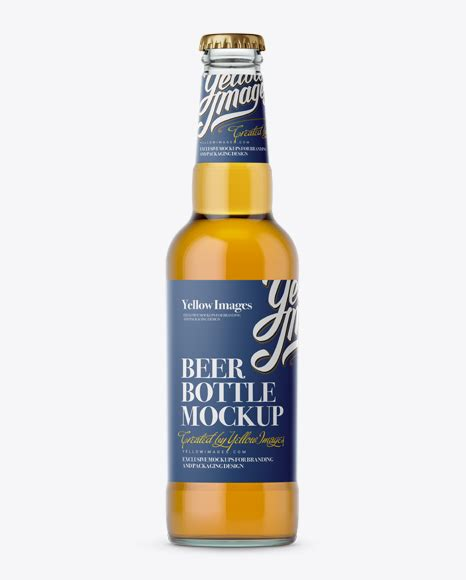 This amazing bottle beer mockup to present your packaging design in a photorealistic look. Download Psd Mockup 330Ml Beer Beer Bottle Beverages ...