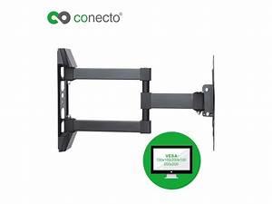 Wandhalterung Für Tv Geräte : conecto cc50271 wandhalterung f r tv ger te mit 58 107 cm ~ Sanjose-hotels-ca.com Haus und Dekorationen