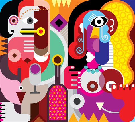 Historical Giants Of Abstract Art, Picasso, Matisse