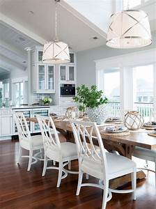 Beach Style Dining Room Design Ideas - Interior God