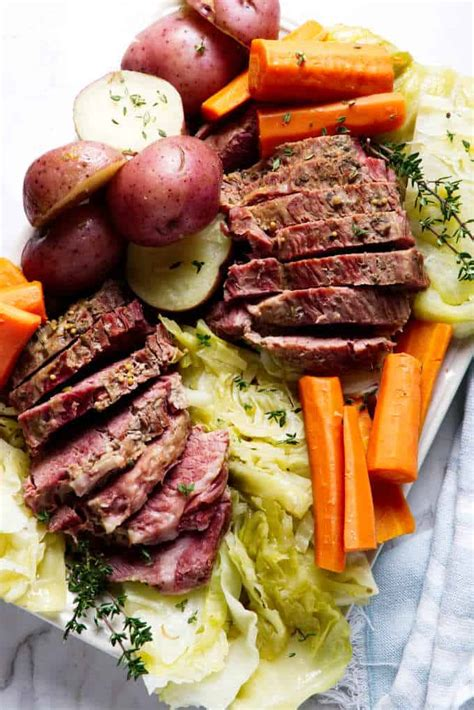 Are calculated by the recipe card itself. Instant Pot Corned Beef And Cabbage - Savor the Best