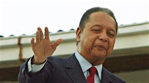 Jean Claude Duvalier 33rd President For The Republic Of