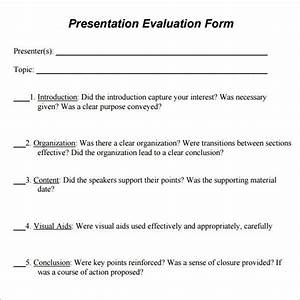 Survey Questions To Ask After A Presentation Sample