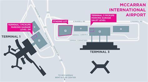 las vegas airport map mccarran international airport