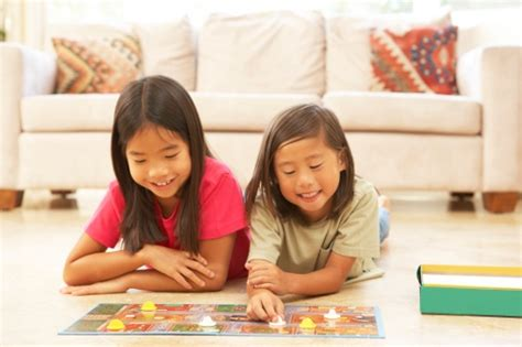 activities to teach preschoolers the importance of 131 | sisters playing board game