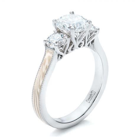 Custom Three Stone Diamond Mokume Engagement Ring #102199. Bow Rings. 0.95 Carat Engagement Rings. Pearl Stone Engagement Rings. Benefit Wedding Rings. Silwar Rings. Long Wedding Rings. Birthstone Color Wedding Rings. Unique Rectangle Rings