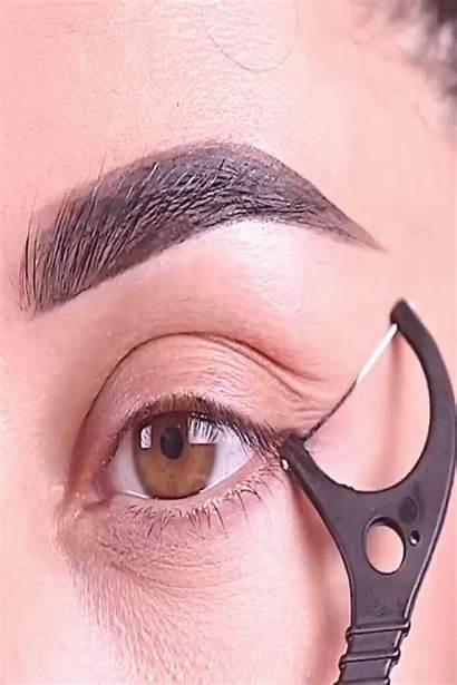 Makeup Eye Eyeshadow Brushes Liner Nikkietutorial Cat