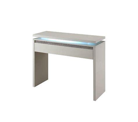 console blanc laque avec tiroir console 1 tiroir riva blanc strass tables basses but