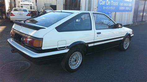 Toyota Corolla Ae86 For Sale by Toyota Corolla Coupe Ae86 One For Sale Japan