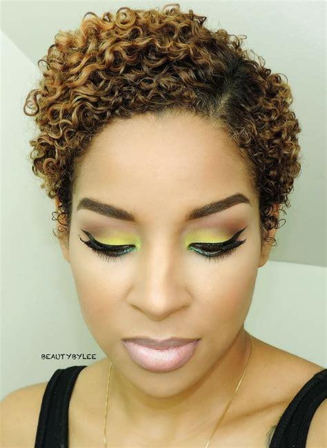 beauty  lee    lavish greens face time natural hair styles  black women