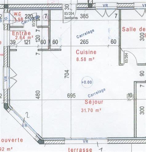 plan maison cuisine ouverte couleurs pour séjour cuisine ouverte maison neuve