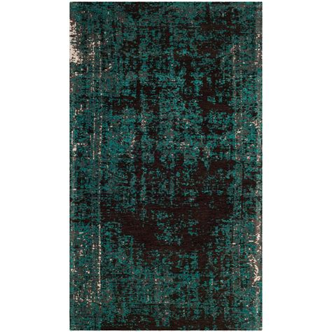 Teal And Brown Area Rugs by Safavieh Classic Vintage Teal Brown 3 Ft X 5 Ft Area Rug