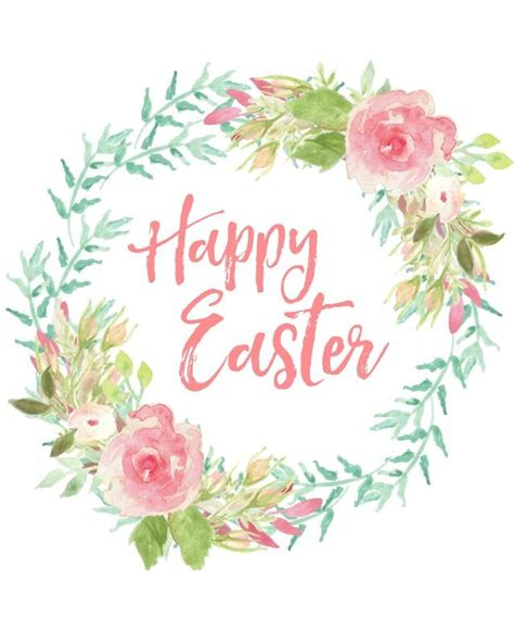 easter printable  easter decorating ideas