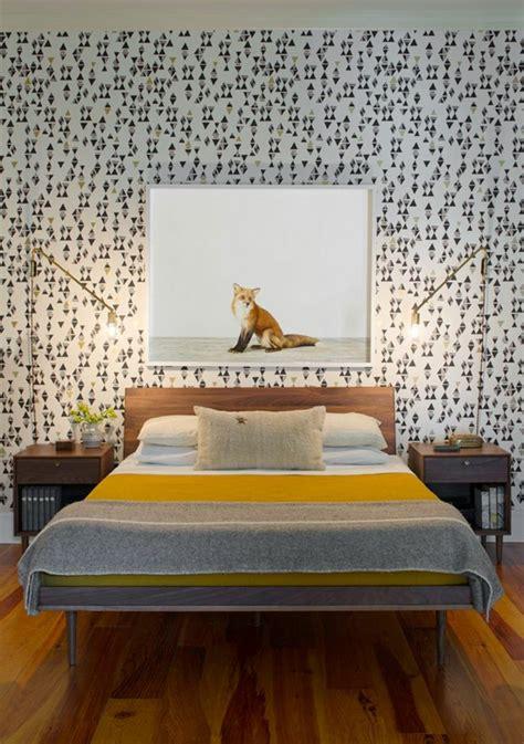 tapeten ideen für das schlafzimmer 50 vintage tapete ideen die dem raum einen