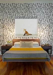 Schlafzimmer Vintage Style : 50 vintage tapete ideen die dem raum einen unvergleichbaren charme vermitteln ~ Michelbontemps.com Haus und Dekorationen